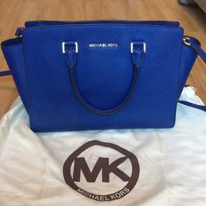 Michael Kors Large Selma Satchel Bag